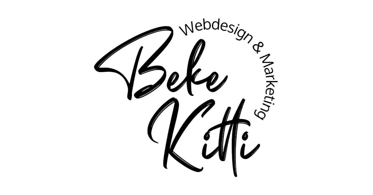 Beke Kitti Weboldal Keszites Noi Vallalkozoknak Logo 3